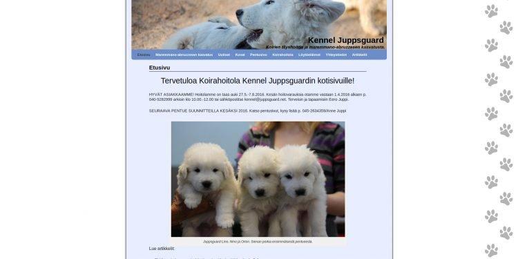 Koirahoitola Kennel Juppsguard
